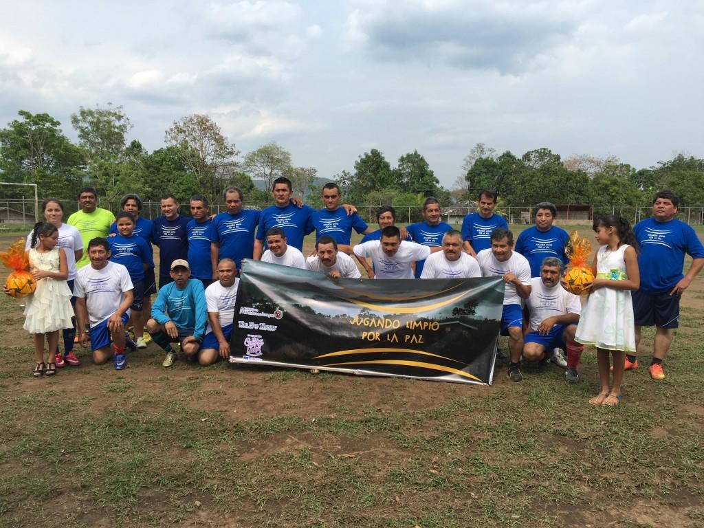 Equipo Jugando limpio por la Paz Morazan